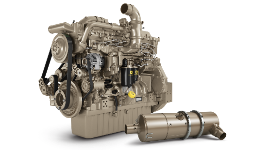 13.6L engine and inline aftertreatment system