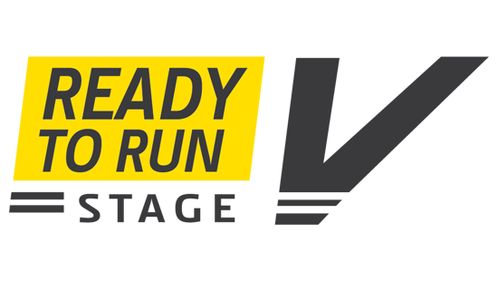 "Text that says ""Ready to run Stage V"""