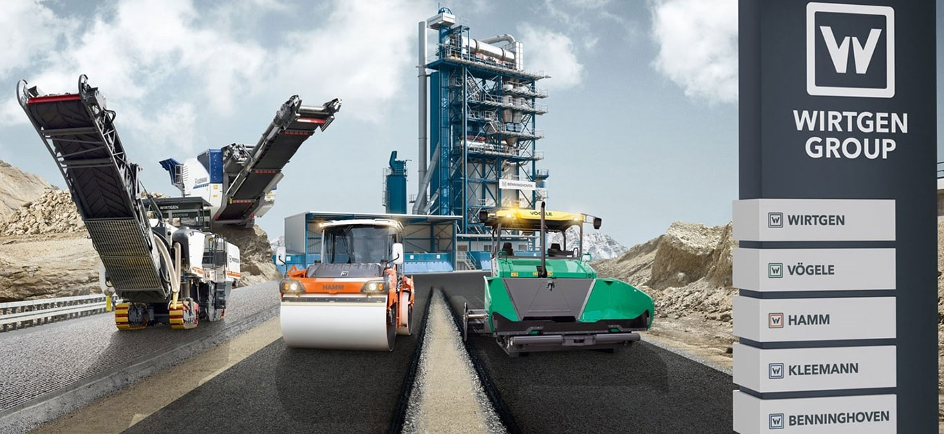 Road building products