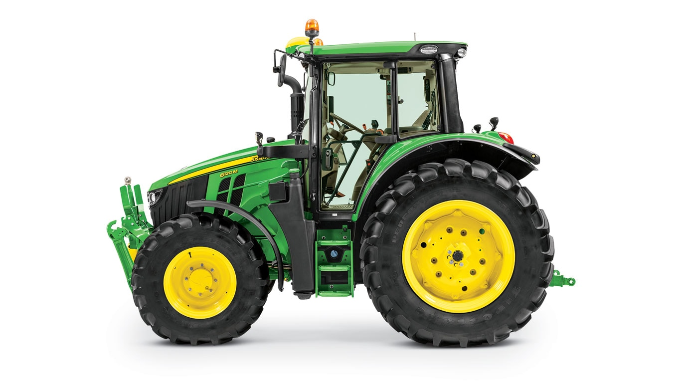 New 6M tractors Side View