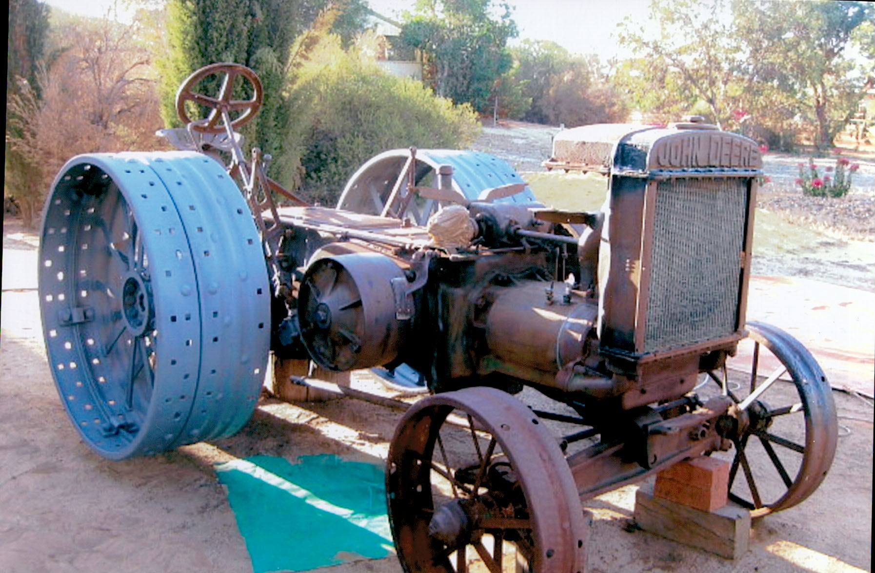 The restoration of the Model D Tractor continues