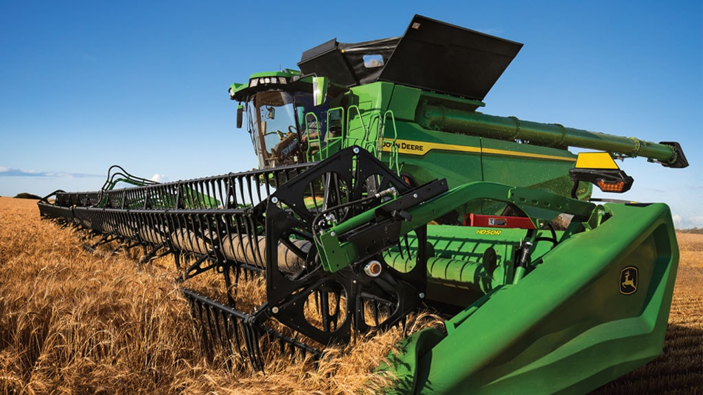 Photo of combine with higher capacity