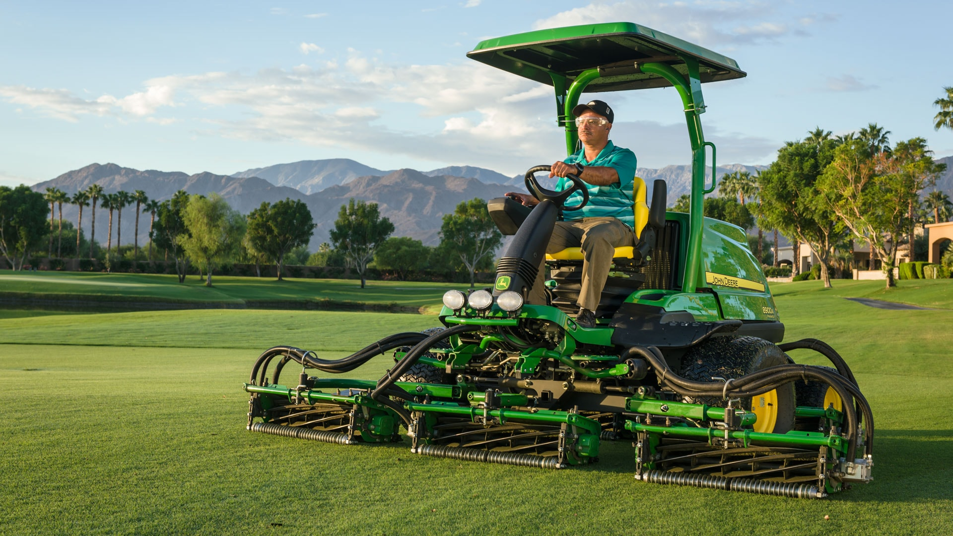 The A Model Mowers from John Deere