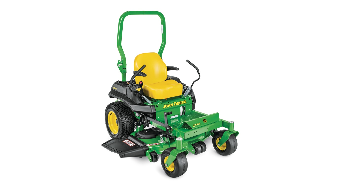 studio image of the Z720E ZTrak™ mower