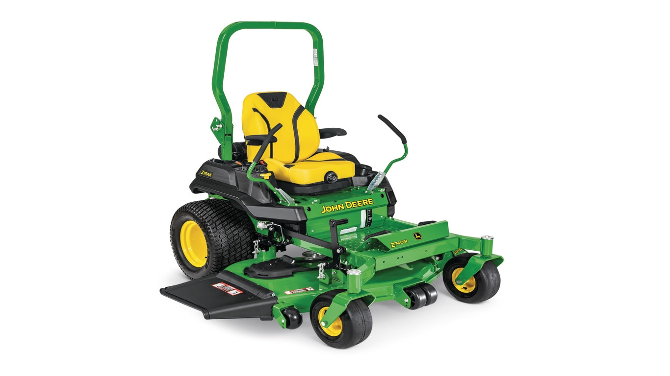 studio image of the Z740R ZTrak™ mower