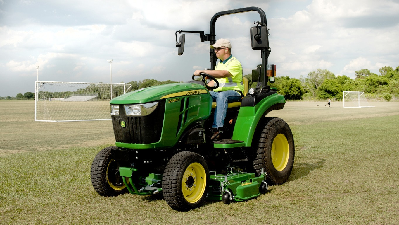 Compact Tractors Product : R family compact utility tractors john deere new